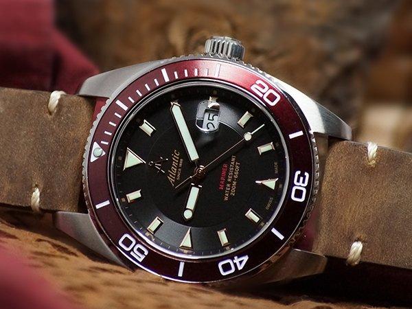 Elegancki zegarek marki Atlantic na walentynki