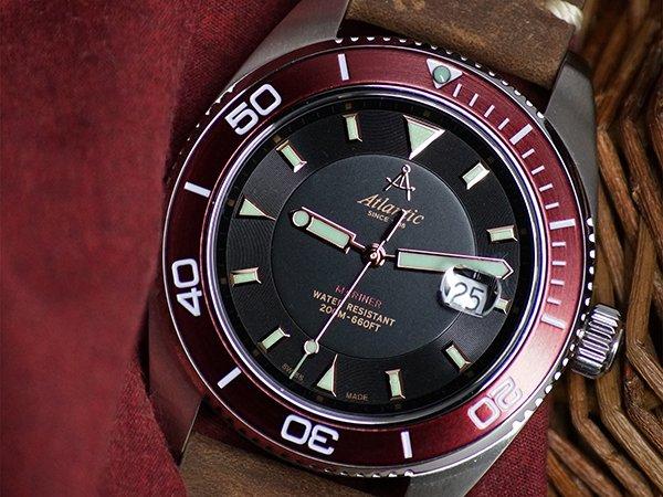 Szwajcarskie serce zegarków Atlantic Mariner