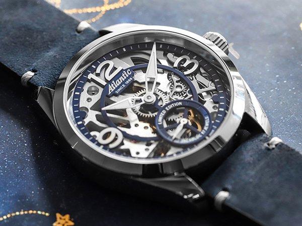 Niezwykła stylistyka zegarków Atlantic Seaflight