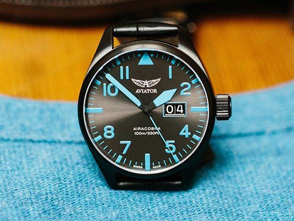 Niepowtarzalne zegarki Aviator