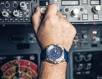 Aviator – zegarki stworzone dla miłośników powietrznej żeglugi
