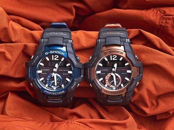 Stylowe zegarki G-Shock w dwóch kolorach