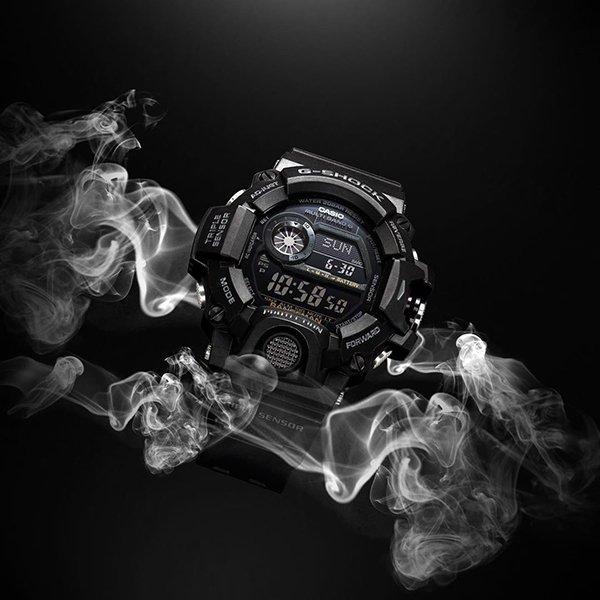 Sportowy zegarek G-Shock w czarnym kolorze