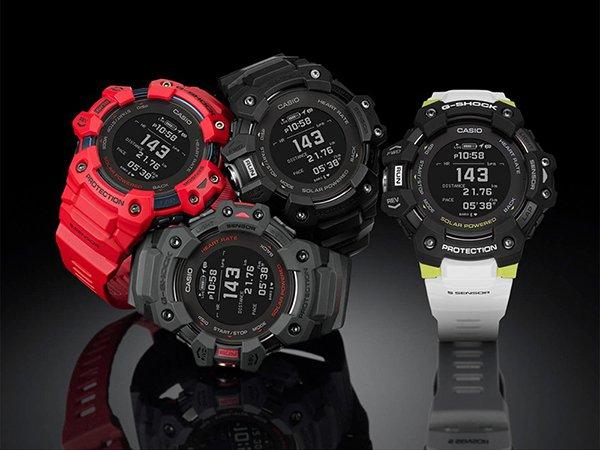 Pierwszy absolutnie wytrzymały smartwatch – G-SHOCK GBD-H1000 w różnych wariantach kolorystycznych