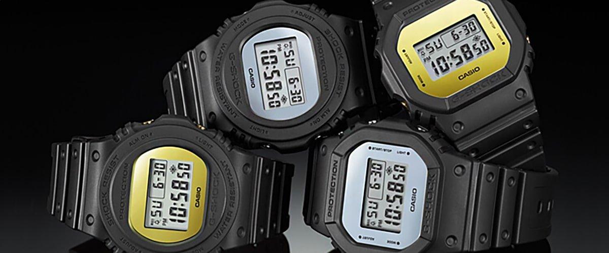 Stylowe zegarki Casio G-Shock.