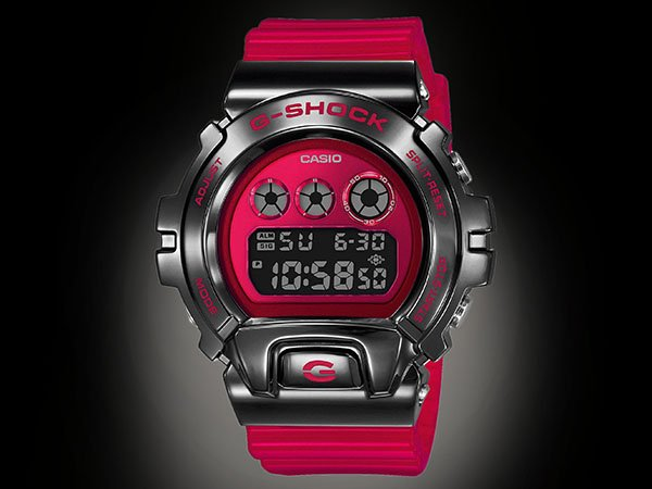 Jubileusz zegarków G-SHOCK GM-6900 w odcieniu czerwieni