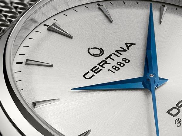 Klasyczny zegarek Certina DS-1