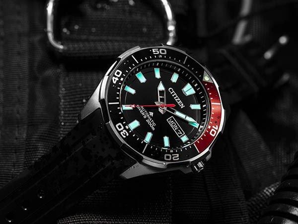 Japoński zegarek automatyczny marki Citizen