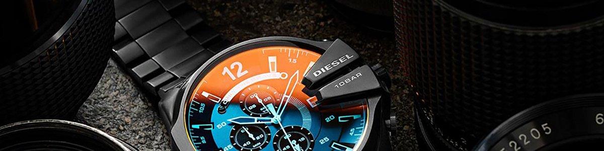 Zegarki Diesel na bransolecie