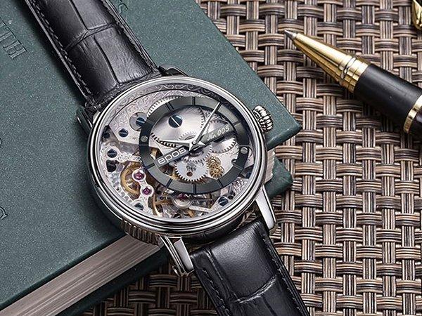 Prestiżowe zegarki szwajcarskie Epos dla mężczyzn