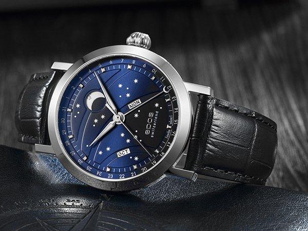 Zegarek Epos z wyjątkową tarczą oraz mechanizmem automatycznym