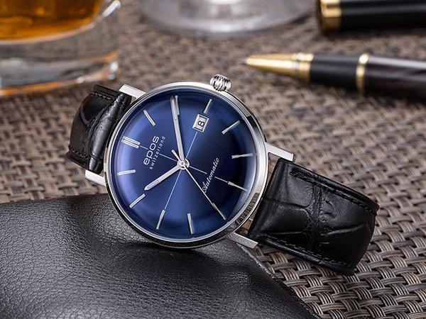 Szwajcarskie zegarki automatyczne męskie - marki epos