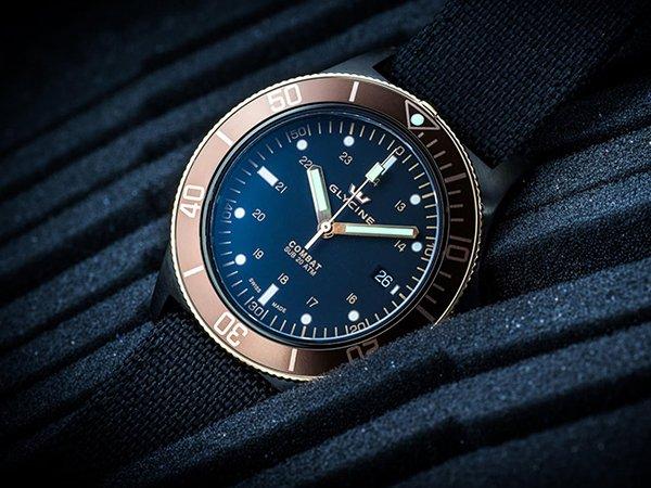 Niezwykły zegarek Glycine Combat Sub