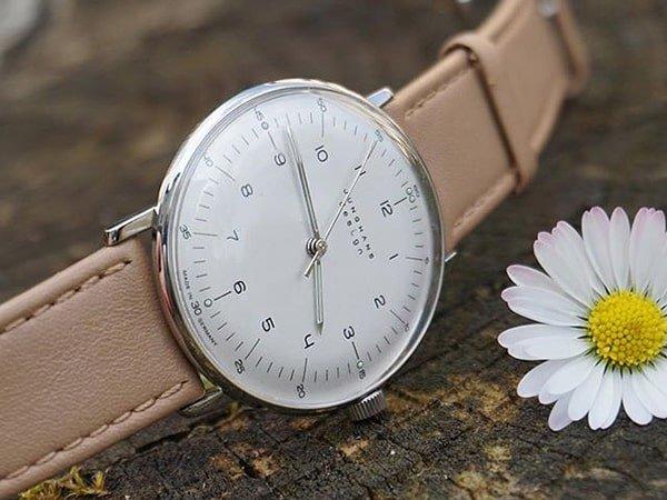 Niemiecki zegarek automatyczny marki Junghans.