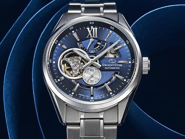 Zegarki Orient Star na bransolecie