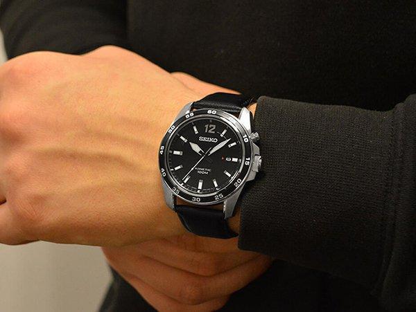 Automatyczny zegarek kwarcowy – Seiko Kinetic