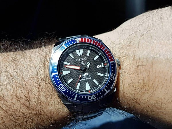 Męski zegarek Seiko Padi.