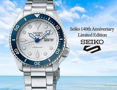 Recenzja Seiko 5 Sports SRPG47K1 140th Anniversary Limited Edition na nadgarstku