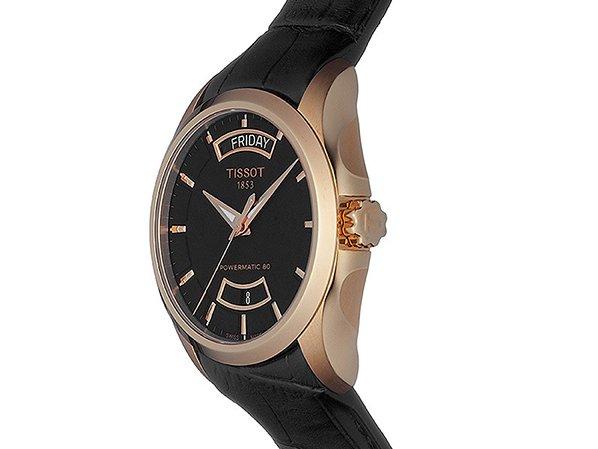 Budowa zegarków Tissot Couturier
