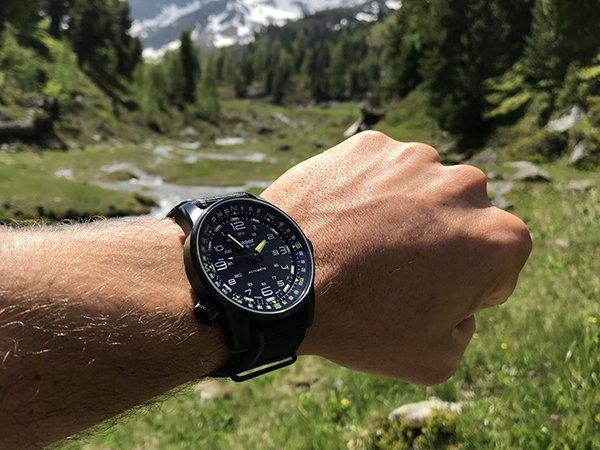 Zegarek męski Traser z automatycznym naciągiem