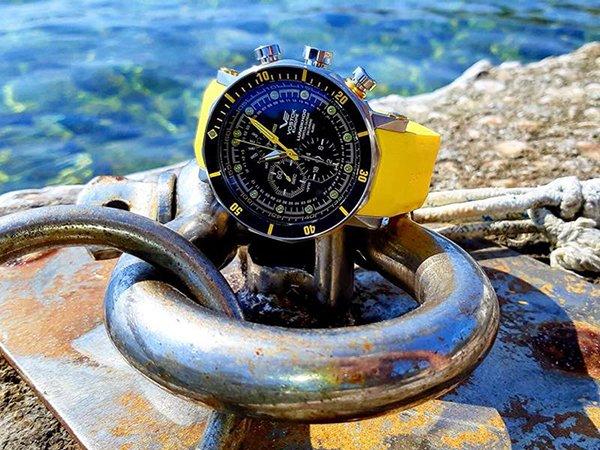 Specjalistyczny zegarek Vostok Europe dla nurków lubiących wyzwania