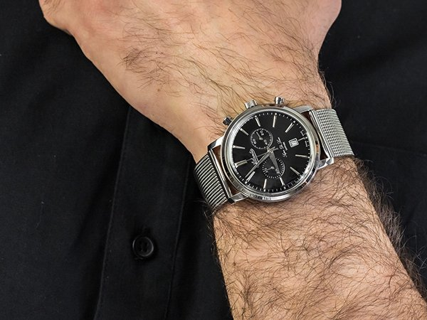Vintage-owa inspiracja w zegarkach Atlantic Super De Luxe