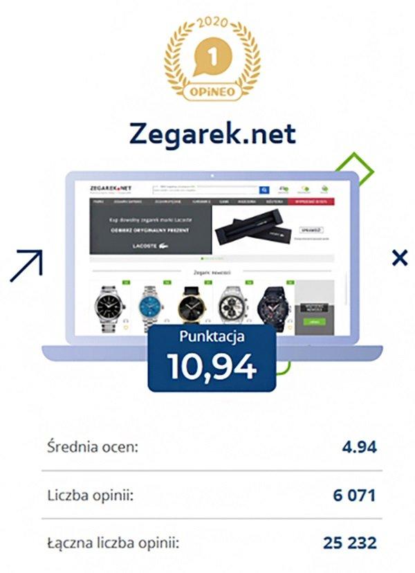zegarek.net jako najlepszy sklep w Polsce!