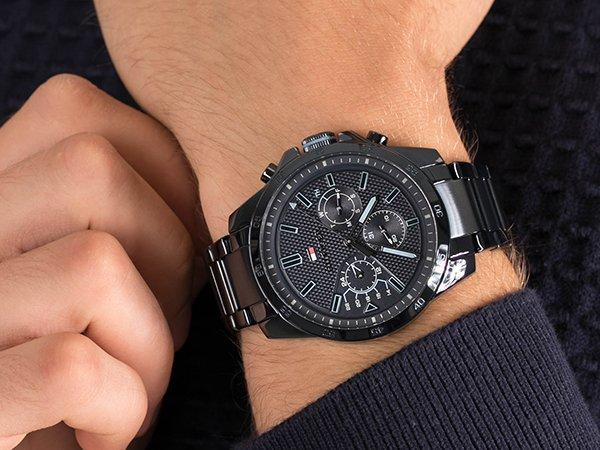 Dbałość wykonania w męskich zegarkach Tommy Hilfiger