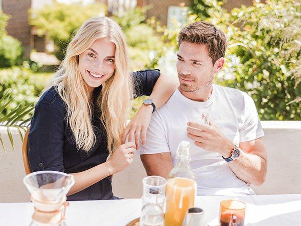 Zegarki Obaku Denmark dla niej i dla niego.