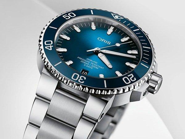 Wejdź do podwodnego świata z zegarkiem Oris Aquis