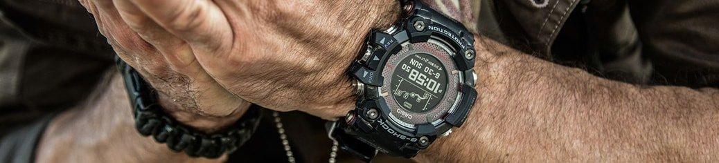 Wielofunkcyjny zegarek G-Shock Rangeman