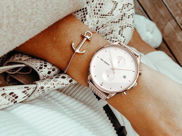Zegarki Paul Hewitt w żeglarskim stylu z bransoletami Pherbs