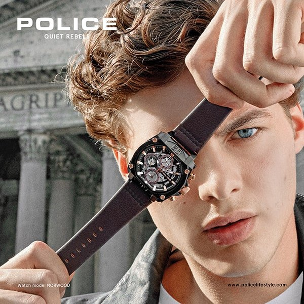 Rodzaje zegarków Police na pasku