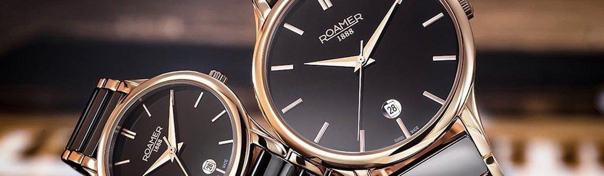 Stylowe zegarki Roamer dla niej i dla niego