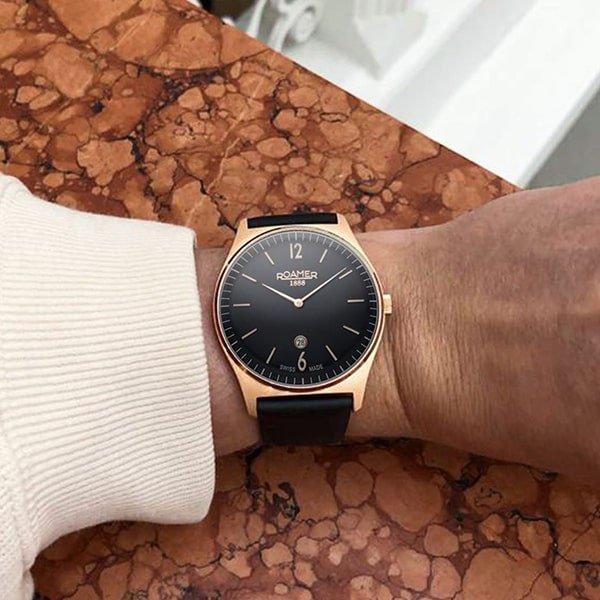 Klasyczne wzornictwo zegarków Roamer