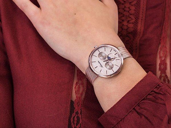 Wyrafinowany zegarek damski Adriatica