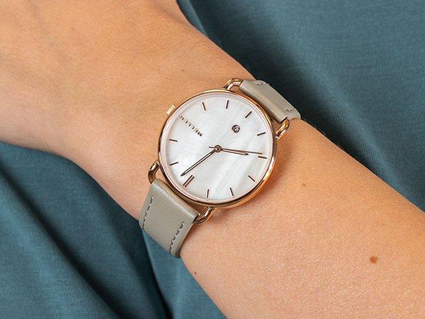 Zegarki Meller z okrągłą tarczą