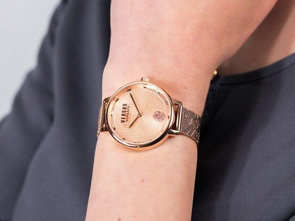 Kobiece zegarki Versus Versace — szyk i elegancja