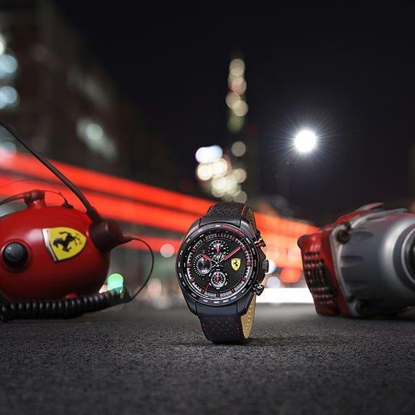 Specyfikacja techniczna zegarków Scuderia Ferrari