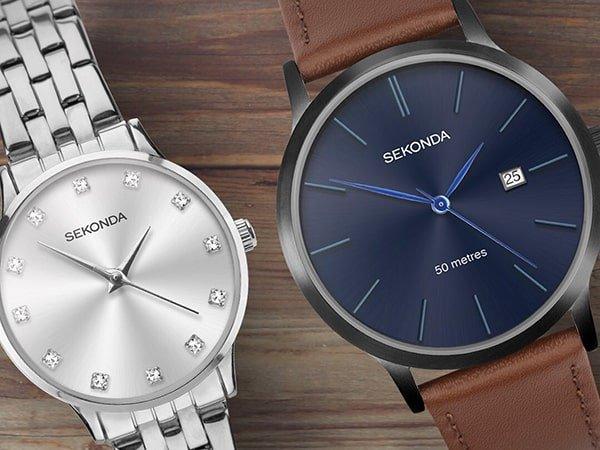 Zegarki Sekonda dla każdego