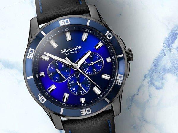 Modne wzornictwo zegarków Sekonda