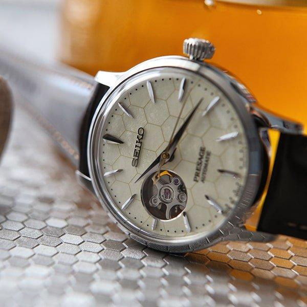 Wyjątkowy zegarek Seiko Presage Honeycomb