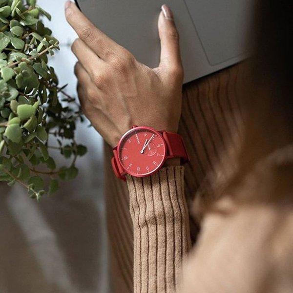 Zegarek Skagen na pasku z tworzywa szrucznego