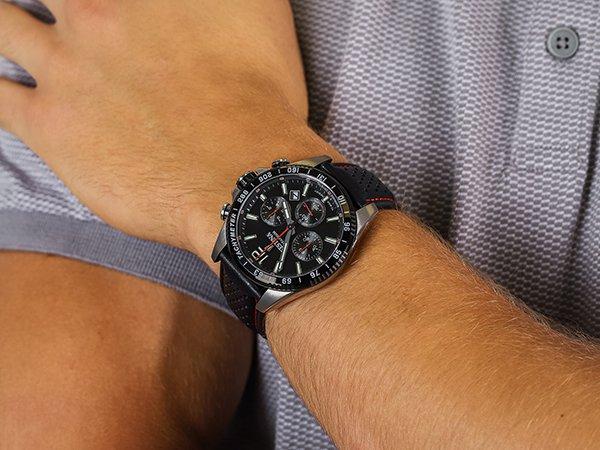 Sportowe chronografy Festina Titanium