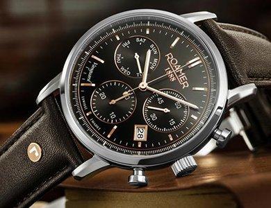 Kolekcja zegarków Roamer Vanguard - w rytmie miasta