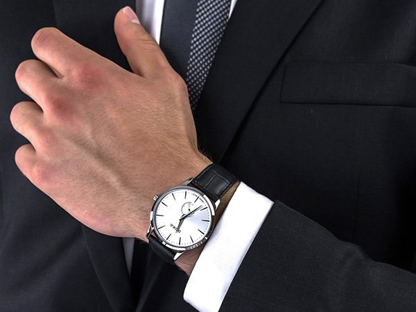 Zegarki DOXA Slim Line - zegarek do garnituru