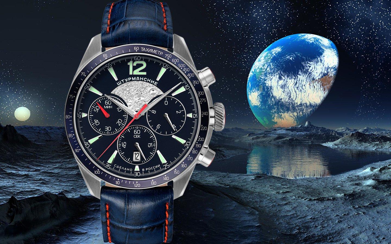 Nowa kolekcja zegarków Sturmanskie Luna-25