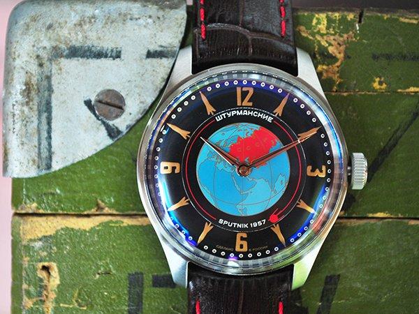 Kwarcowe zegarki Sturmanskie sputnik
