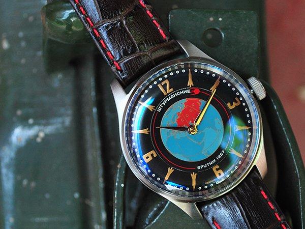 Rzemiosło zegarków Sturmanskie Sputnik
