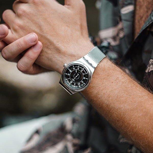Rewolucja mechaniczna w zegarkach Swatch Irony System51